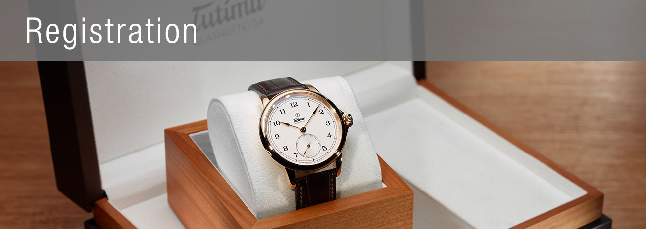 Activate your Tutima timepiece warranty