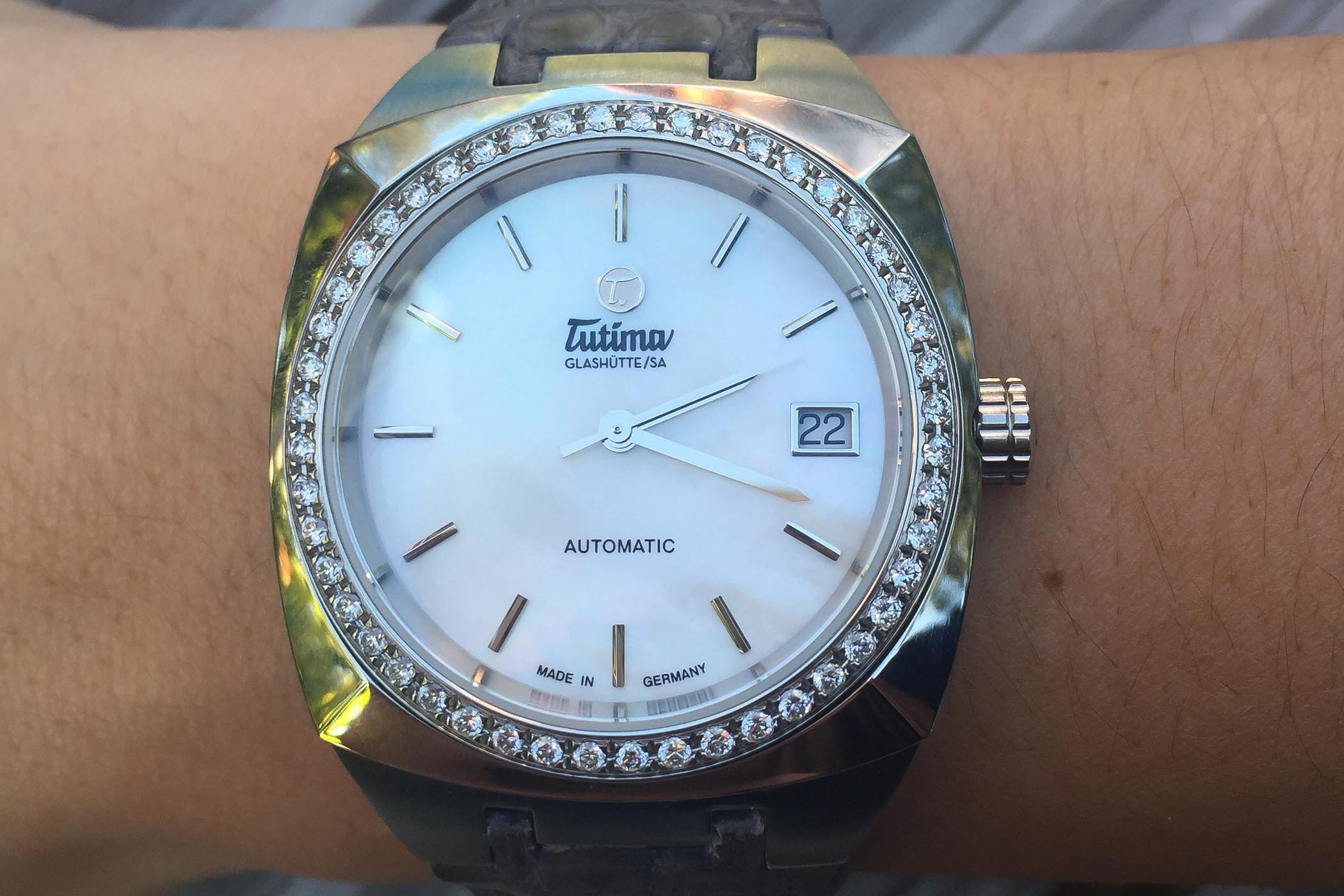 MONOCHROME – Women's Watch Wednesday – Reviewing the Tutima