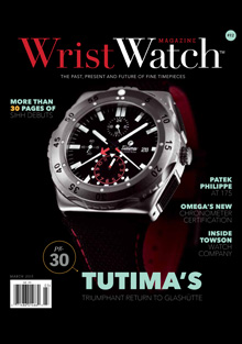 Wrist Watch March 2015 Tutima Cover